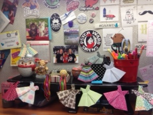 My Craptastic Office. Isn't it something?